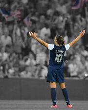 USA Soccer CARLI LLOYD Glossy 8x10 Photo Spotlight Poster 2015 World Cup Champs