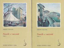 Novelle e racconti (tomi I e II) di Umberto Fracchia,  1985,  Salerno Editrice