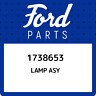 1738653 Ford Lamp asy 1738653, New Genuine OEM Part