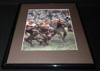 Jim Brown Framed 11x14 Photo Display Browns