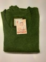 MAGLIA SWEATER MAGLIONE DONNA 100% CASHMERE CACHEMIRE OLD NAVY TG. S VERDE