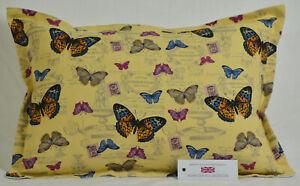 "Handmade Butterflies Cushion Rectangle Inc Pad 14"" x 20"" (36cm x 51cm)"