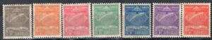 BRAZIL 1927 AIR MAIL STAMP Sc. # CL 1/7 MH SYNDICATO CONDOR