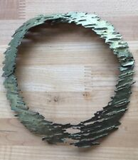 Michael Michaud Birch Bark Sectioned Necklace/Collar Patina Bronze