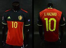 adidas KBVB Belgium Euro 2016 Home Shirt Eden HAZARD SIZE S (adults)