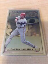 1996 (PHILLIES) Leaf Preferred Steel #36 Darren Daulton
