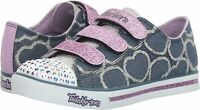 Girls Sparkly Sketchers Twinkle Toes Shoes Trainers UK Size 13  EU 32 LIGHT UP