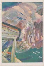 Aeronautica - (4) Crociera Aerea del Decennale, 1933-XI, non viaggiata.