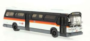 Iconic Replicas 1:43 GM TDH5303 Transit Bus: Los Angeles RTD / Bandit Livery