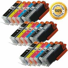 *18pk PGI-250XL CLI-251XL w/Gray Ink For Canon Pixma iP8720 MG6620 with Chip