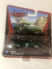 New Disney Pixar Cars 2 - Nigel Gearsley - 1:55 Diecast - #20 - Mattel - NEW