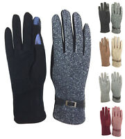 Womens Warm Smart Touch Screen Gloves Smartphone windproof driving gloves GL102