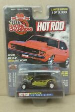 Rare NEW HOT ROD MAGAZINE CAR '33 FORD VICKY RACING CHAMPIONS w/ Flames