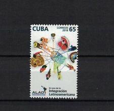 Karibik span. 2018 stamp ** / mnh ALADI Integration Latainamerika Landkarte