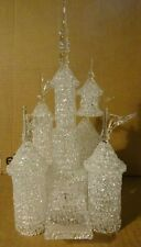 WALT DISNEY WORLD Arribas Brothers CINDERELLA'S CASTLE Glass Crystal Figure