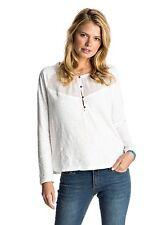 Roxy Dreamland Long Sleeve Top Marshmellow Sz Small ERJKT03216