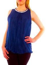 Damen-Trägertops locker sitzende Damenblusen, - tops & -shirts aus Chiffon