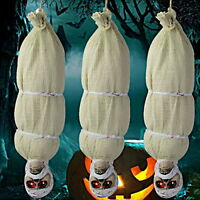 Halloween Hanging Spooky Ghost Outdoor Scary Zombie Mummy Haunted House Prop F