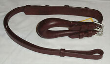 Nos Ideal Equestrian Leather Carriage Driving Pony Size Saddle Harness Crupper