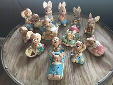 Collection Pendelfin Bunny Rabbit Figures Collectible