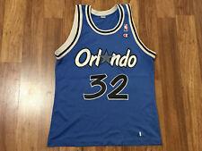 MENS 40 - Vtg NBA Orlando Magic #32 Shaquille O'Neal CHAMPION Printed Jersey