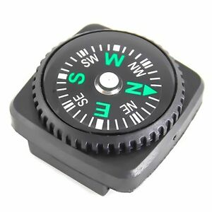 EDC Watch Strap Compass Survival Emergency Camping Hiking Travel Tools