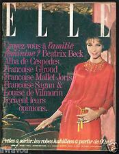 ▬►Elle 827 de 1961 Mode Fashion Vintage_Princess Margaret_Françoise Sagan