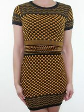 Short Sleeve Casual Spotted Dresses Size Petite for Women