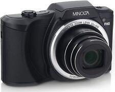 Minolta 20 Mega Pixels Wi-Fi Digital Camera with 22x Optical Zoom, 1080p Hd