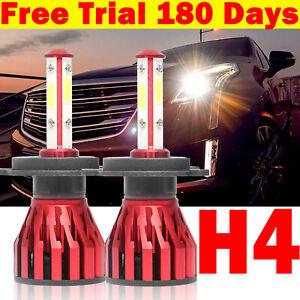 H4 LED Car Headlight Hi/Lo Beam Conversion Kit Bulbs 2000W 200000LM Globes Lamp