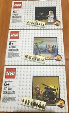 LEGO 5002812 Spaceman+5003082 Pirate+5004419 Knight -2014,2015, 2016 Exclusive