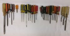 Vintage Screwdriver Lot • Stanley Cornwell Rosco Amsco • Made in USA