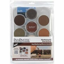 Colorfin PanPastel Ultra Soft Artist Pastel Set, 9ml, Weathering, Rust/Earth