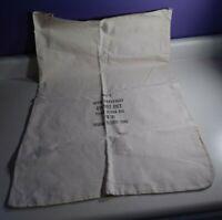 """VTG Federal Reserve Bank Cloth Money Bag Size K 30"""" x 21"""""""