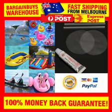 PVC Puncture Repair Kit For Inflatable Toys Swimming Pools Float Air Bed Dinghis
