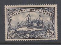GERMAN SOUTH WEST AFRICA 24 YACHT MINT HINGED OG * NO FAULTS SUPERB