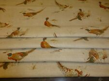 BEAUTIFUL FRYETT'S PHEASANT FABRIC ROMAN BLIND MADE TO MEASURE MOST SIZES