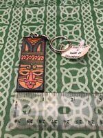 Made In Indonesia Soft Leather Folk Animist Worship Keychain FREE SHIPPING