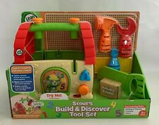 LeapFrog Scout's Build & Discover Tool Set Learning Toy Ages 2+ Years NEW
