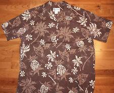 Vtg Howie Brown Floral Hawaiian Shirt Men's Sz XL - Matching Pocket Made in USA