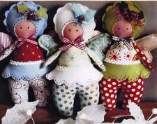 SALE - PATTERN - Trixie Pixie - cute little cloth doll PATTERN - Annie Smith