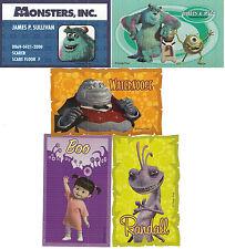 Sandylion Vintage Monster's Inc. Scrapbooking Stickers Set of 5 Super Rare