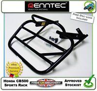 NEW GENUINE RENNTEC SPORTS RACK IN BLACK FITS A HONDA CB500 CB 500 98 99 00 01