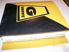 GROVE RT740 Crane PARTS Manual  GMC 6V-53N   09/1982