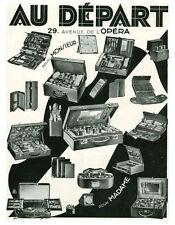 Publicité ancienne bijoux, montres et trousses de  beauté 1930