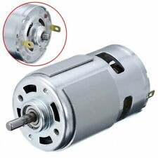 High Speed Electric 13000-15000rpm 775 Motor DC12V-24V Shaft Ball Bearing Torque