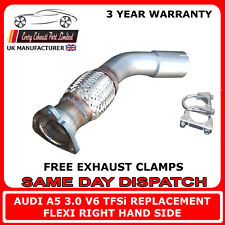 Audi A5 3.0 TFSi Exhaust Repair Flex Clamp On Replacement for Cat Pipe Right HS