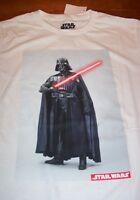 STAR WARS DARTH VADER w/ LIGHTSABER T-Shirt MEDIUM NEW w/ TAG