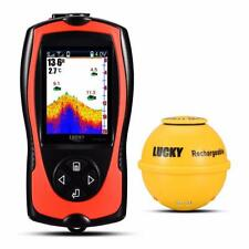 Fishfinder Rechargeable Sonar Sensor 45m Water Depth High Definition Fish Finder