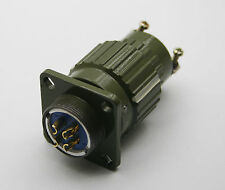 1pcs Military 20mm 4 Pin Twist Male Female Connector YJ-05